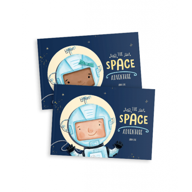 The Space Adventure Story Book