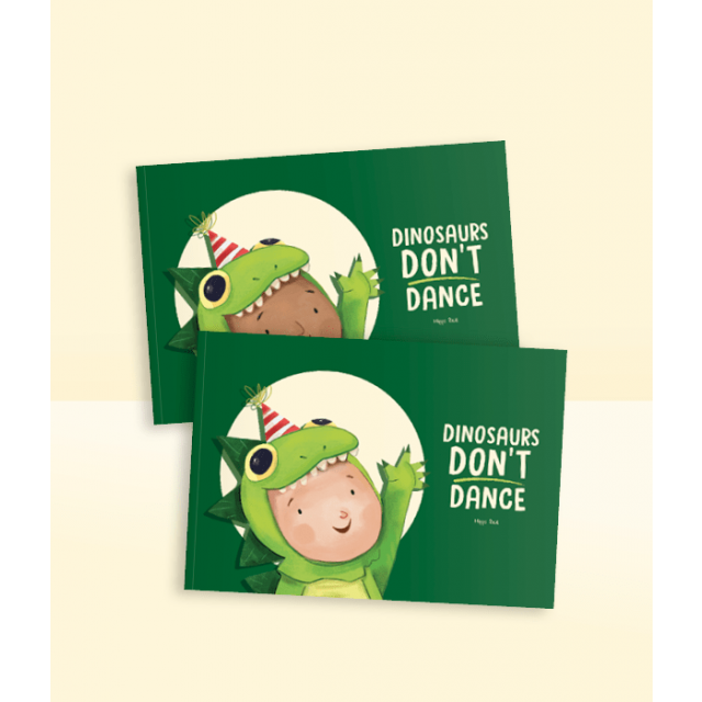 Dinosaurs Don't Dance Story Book