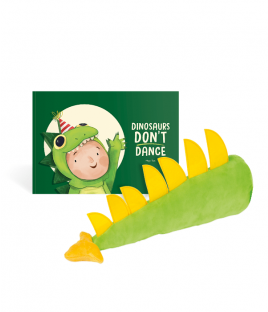 Dinosaurs Don't Dance Story Book + Dino Tail Combo