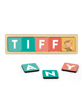 ABC Jungle Name Blocks Set