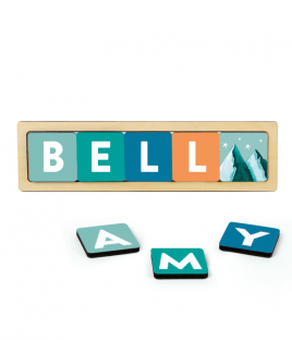 Adventures Name Blocks Set